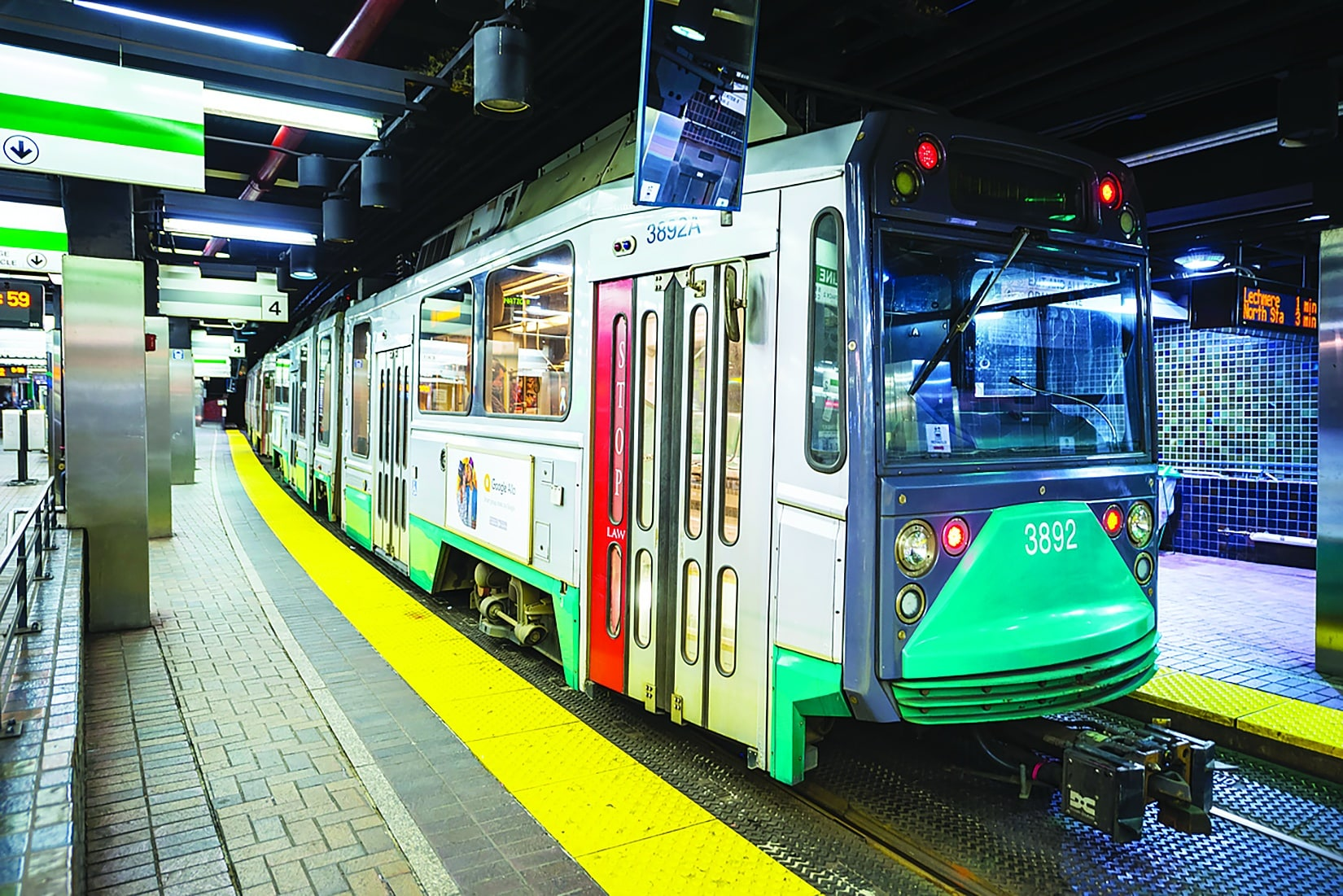 Green Line Extension 60 Percent Complete, On Schedule